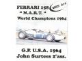 MERI MKS14 フェラーリ 158 N.A.R.T 1964