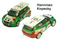 Provence Miniatures K172 シュコダ FABIA S2000 Monte Carlo 2010 HANNINEN-KOPECKY-VOUILLOZ