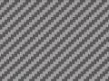 SHUNKO D315 シルバーカーボンファイバーデカール (綾織/粗目) 【メール便可】