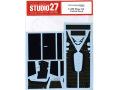 STUDIO27デカール CD20043 1/20 ロータス 91 カーボンデカール 【メール便可】
