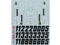 TABUデザイン 12055 1/12 ロータス 72D フルスポンサー 1972/73 デカール【メール便可】