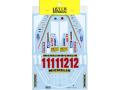 TABUデザイン 12057 1/12 フェラーリ 312T4 フルスポンサーデカール【メール便可】