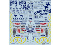 TABUデザイン 20032 1/20 B193 フルスポンサーデカール (タミヤ対応)【メール便可】