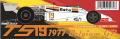 ** お取り寄せ商品 ** WOLF Models 20079 1/20 サーティース TS19 1977 Belgium GP