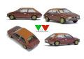 YOW Modellini K157 フィアット 128 Coupe Bertone 1/43キット