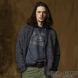 Denim & Supply Ralph Lauren : Marled Cotton Shawl Cardigan