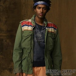 Denim & Supply Ralph Lauren : Serape-Yoke Field Jacket