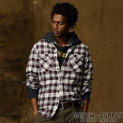 Denim & Supply Ralph Lauren���ǥ˥� & ���ץ饤 ���ե?��� : Ward Plaid Cotton Shirt