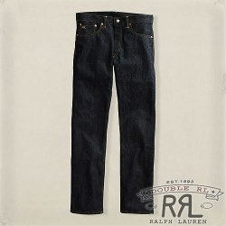 RRL�����֥륢���륨�� : Slim Fit Dark Wash Denim