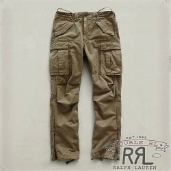 RRL�����֥륢���륨�� : Slim Twill Cargo Chino