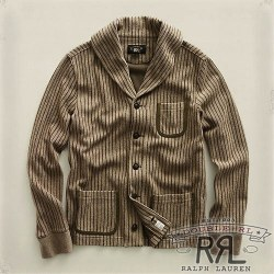 RRL�����֥륢���륨�� : French Terry Shawl Cardigan