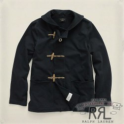 RRL�����֥륢���륨�� : Cotton Jersey Duffle Coat