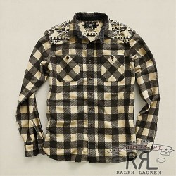 RRL : Chamois Plaid Workshirt