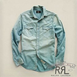 RRL�����֥륢���륨�� : Light Chambray Buffalo Western