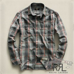 RRL�����֥륢���륨�� : Flannel Throatlatch Workshirt