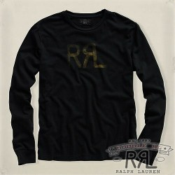 RRL�����֥륢���륨�� : Long-Sleeve Logo Tee