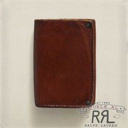RRL�����֥륢���륨�� : Trifold Leather Wallet�ʺ��ۡ�
