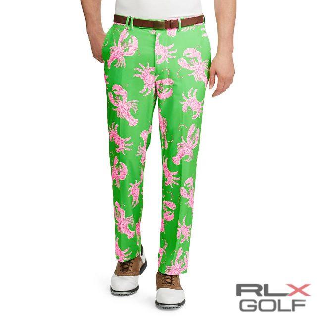RLX ゴルフ/ラルフローレン : Classic Fit Stretch Pant [ゆったり/ストレッチ/ロブスター&クラブ/ゴルフパンツ]