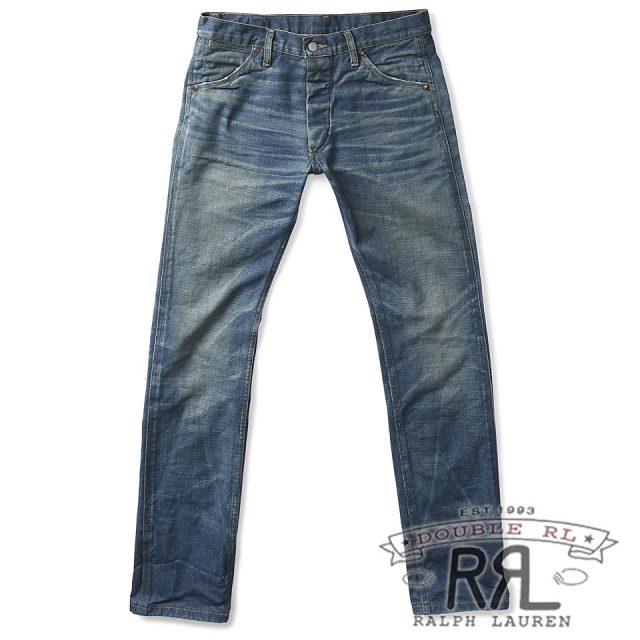 RRL/ダブルアールエル : Slim Fit Selvedge Jean [スリム/日本製生地仕様アメリカ製/デニムパンツ]