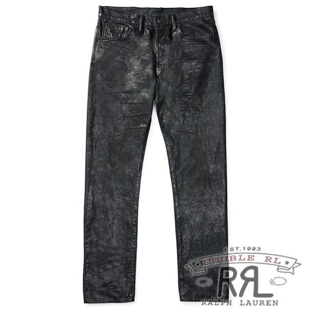 RRL/ダブルアールエル : Slim Narrow Canvas Jean [スリムナロー/レザー風コーティング/デニムパンツ]