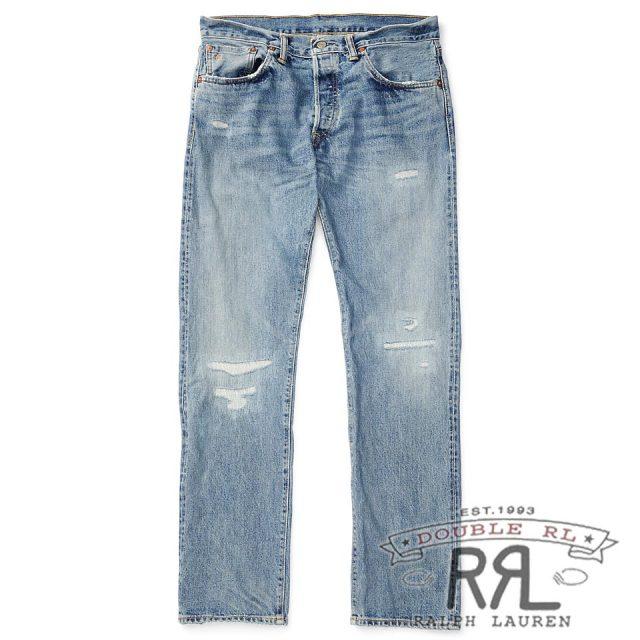RRL/ダブルアールエル : Low Straight Selvedge Jean [ローストレート/アメリカ製/デニムパンツ]