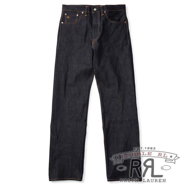 RRL/ダブルアールエル : Rigid Selvedge Jean [リジッド/日本製生地使用アメリカ製/デニムパンツ]