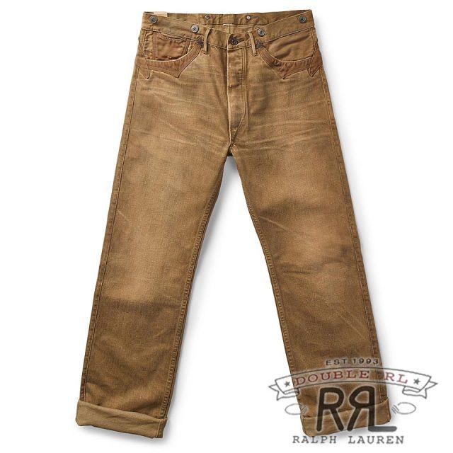 RRL/ダブルアールエル : Selvedge Buckled-Back Pant [ストレート/日本製生地使用/デニムパンツ]