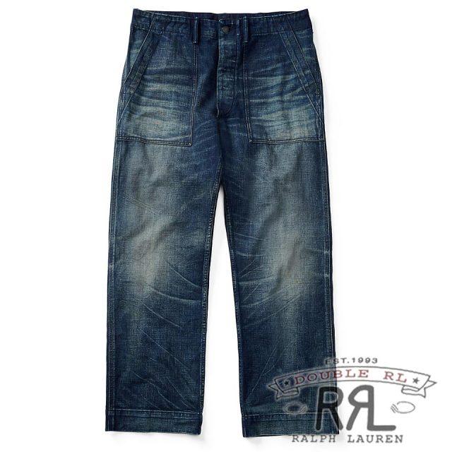 RRL/ダブルアールエル : Selvedge Utility Jean [ストレート/日本製デニム使用/デニムパンツ]