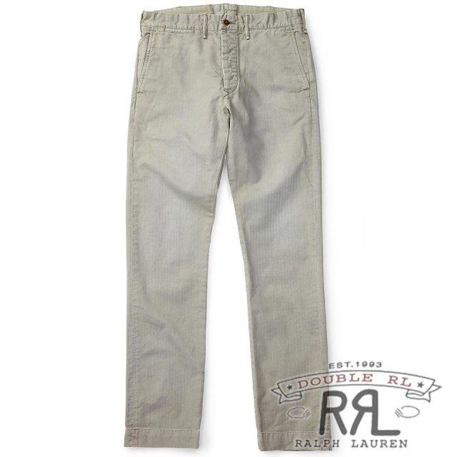 RRL/ダブルアールエル : Slim Fit Cotton Chino [スリム/軽量/コットンヘリンボーン/チノパンツ]