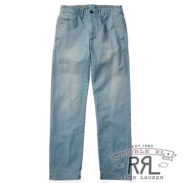RRL/ダブルアールエル : Cotton Officer's Chino [オフィサー/軽量/コットンヘリンボーン/チノパンツ]