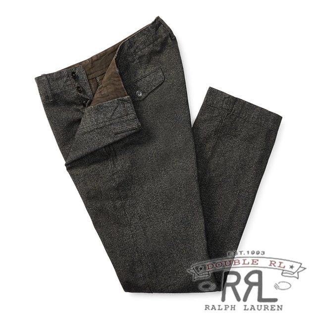 RRL/ダブルアールエル : Cotton Jaspe Pant [オフィサー/軽量/コットンジャスペ/チノパンツ]