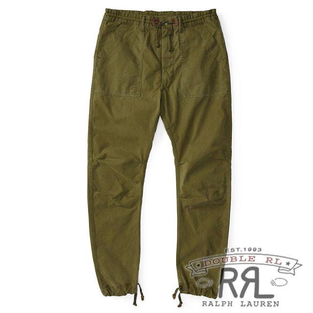 RRL/ダブルアールエル : Cotton-Blend Utility Pant [ゆったり/軽量柔らかポプリン/イージーパンツ]
