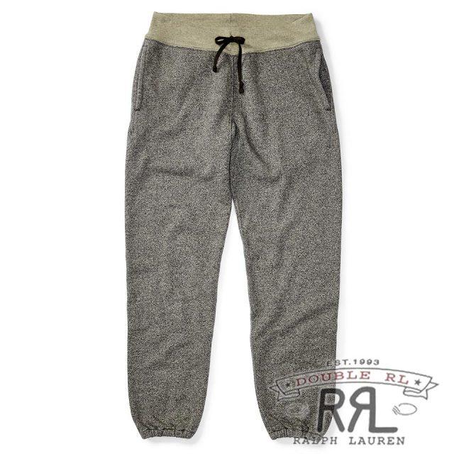 RRL/ダブルアールエル : Cotton-Blend-Fleece Sweatpant [フリース/ヘザー加工/スウェットパンツ]