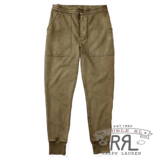 RRL/ダブルアールエル : Cotton French Terry Sweatpant [フレンチテリー/後染めウォッシュ/スウェットパンツ]