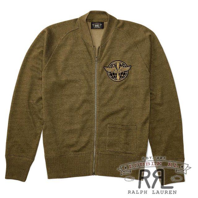 RRL/ダブルアールエル : Fleece Full-Zip Cardigan [フリース/ジップスウェット/カーディガン]