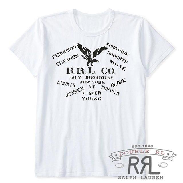 RRL/ダブルアールエル : Cotton Jersey Graphic T-Shirt [軽量コットンジャージー/イーグル/半袖Tシャツ]