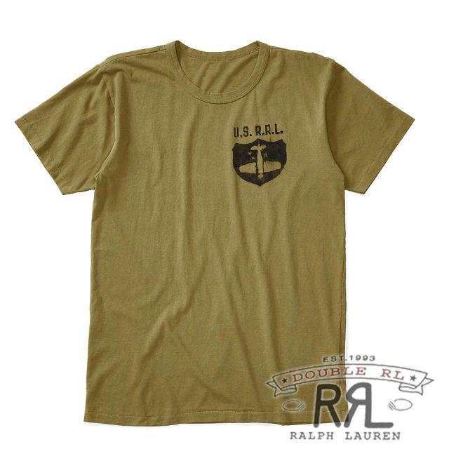 RRL/ダブルアールエル : Cotton Jersey Graphic T-Shirt [軽量コットンジャージー/プロペラ機/半袖Tシャツ]