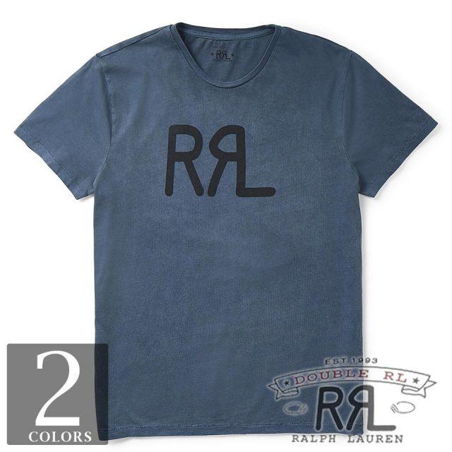 RRL/ダブルアールエル : Cotton Jersey Graphic T-Shirt [軽量コットンジャージー/RRLロゴ/半袖Tシャツ]