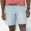 �礭���������Υ��ե?���BIG&TALL : Chambray Preston Short