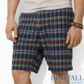 �礭���������Υ��ե?���BIG&TALL : Plaid Bradbury Chino Short