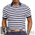 �礭���������Υ��ե?��� : Striped Mesh Polo Shirt [����������Ⱦµ�ݥ?���]