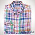�礭���������Υ��ե?��� : Plaid Linen Pocket Shirt [������������ͥ����å�����ŵ�����]