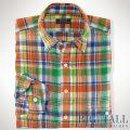 �礭���������Υ��ե?��� : Plaid Linen Workshirt [�������������̥�ͥ����å�����ŵ�����]