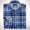 �礭���������Υ��ե?��� : Classic-Fit Plaid Cotton Shirt [�������������åȥ�2���ϡ������å�����ŵ�����]
