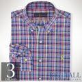 �礭���������Υ��ե?��� : Classic-Fit Plaid Poplin Shirt [�����������ݥץ��ŵ�����]