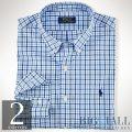�礭���������Υ��ե?��� : Gingham Cotton Poplin Shirt [�����������ݥץ��ŵ�����]