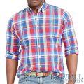 �礭���������Υ��ե?��� : Plaid Oxford Sport Shirt [�������������å����ե����ɡ������å���ŵ�����]