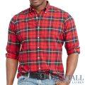 �礭���������Υ��ե?��� : Plaid Cotton Oxford Shirt [�������������å����ե����ɡ������å���ŵ�����]