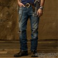 Denim & Supply Ralph Lauren���ǥ˥�����ץ饤 ���ե?��� : Slim-Fit Repaired Jean