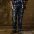 Denim & Supply Ralph Lauren���ǥ˥�&���ץ饤 ���ե?��� : Slouch-Fit Intensive Worn Jean